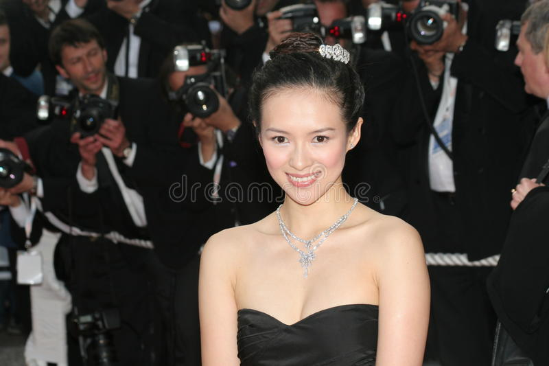 Ziyi Zhang foto de stock royalty free