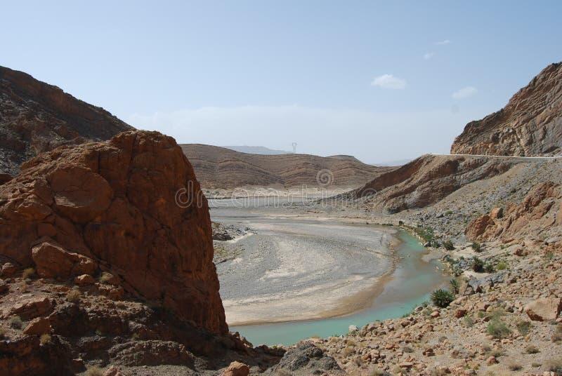 Download Ziz River Valley stock photo. Image of water, river, rock - 15670098