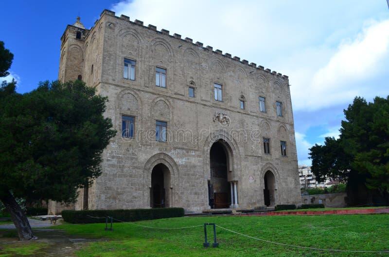 Ziza宫殿 巴勒莫 西西里岛 免版税库存照片