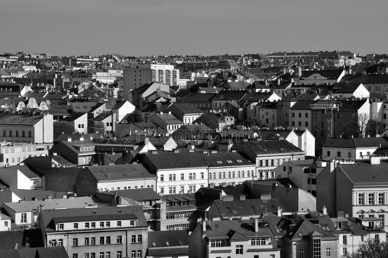 Zizkov区在布拉格,捷克 库存图片