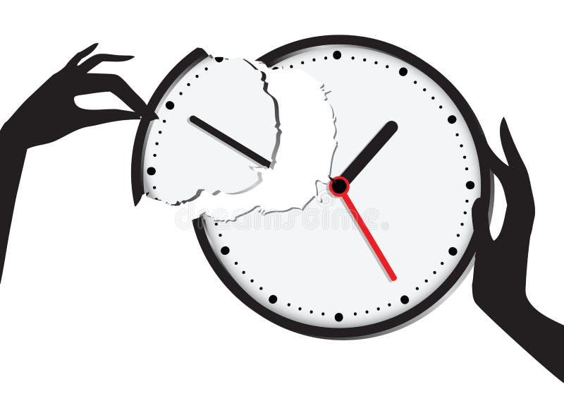 Zjednoczenie czas royalty ilustracja