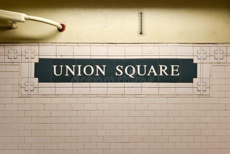 Zjednoczenie kwadrata stacja, Nowy Jork obrazy stock