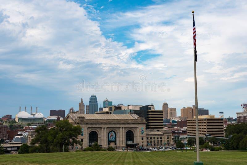 Zjednoczenie stacja w Kansas City Missouri obrazy stock