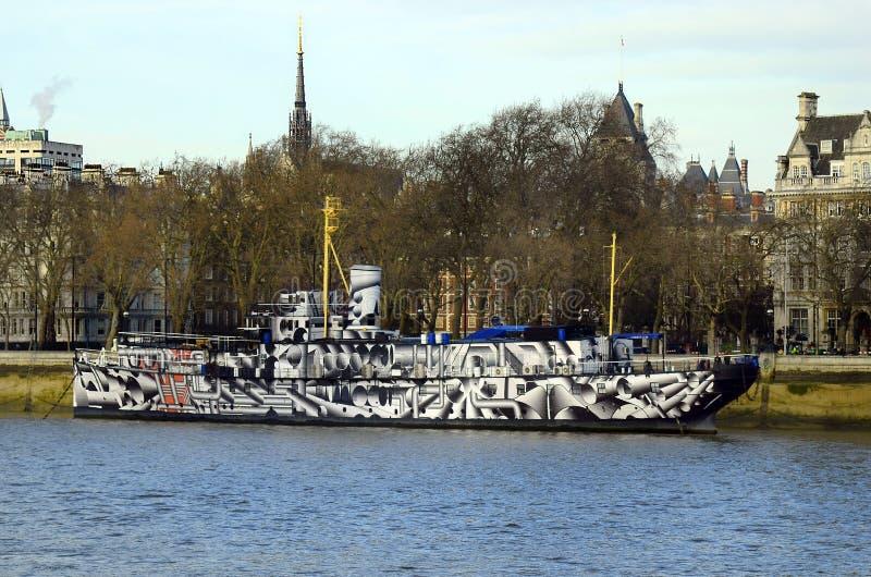 Zlany Londyn obrazy stock