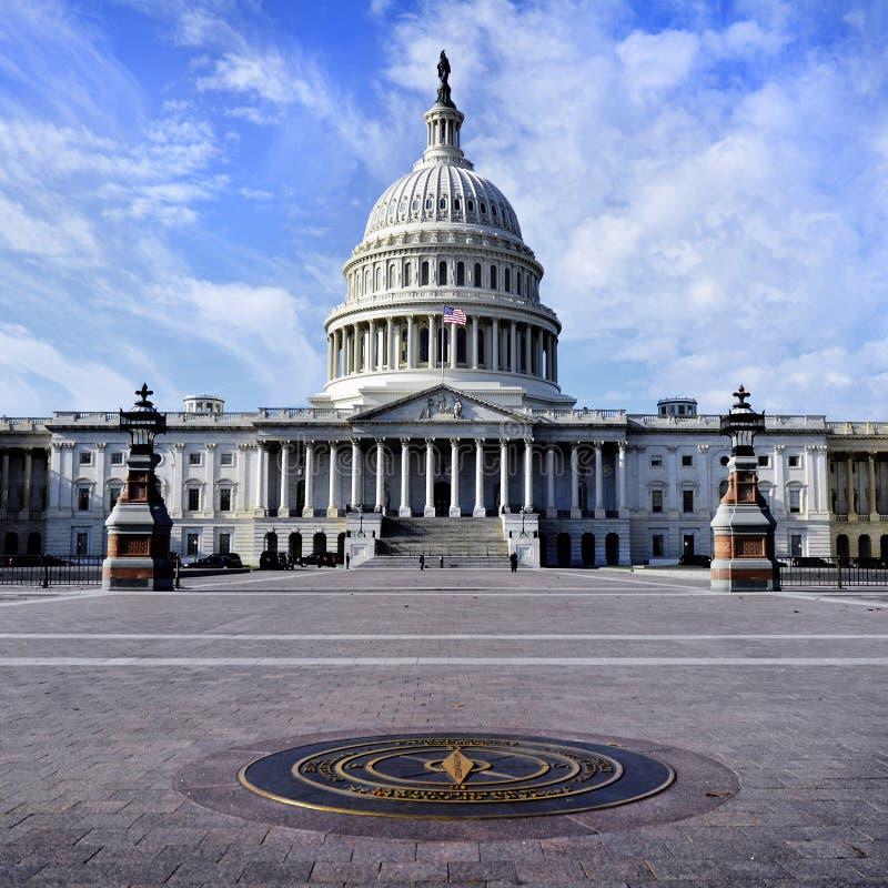 Zlany stanu Capitol budynek zdjęcia stock