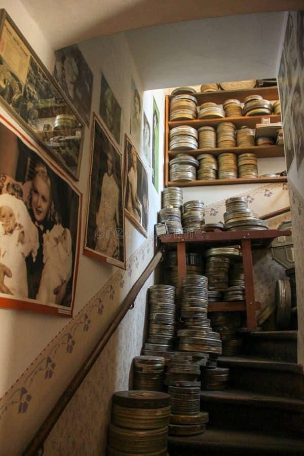 Zlata ulicka interior stock photography