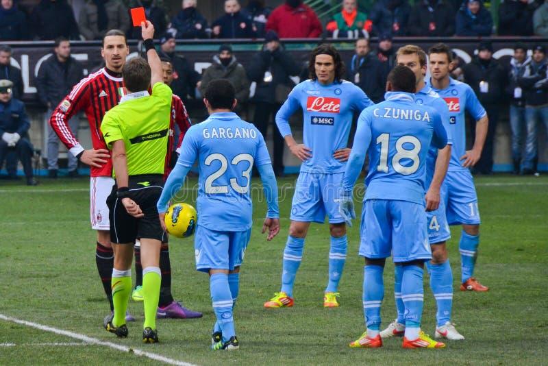 Zlatan Ibrahimovic fotografie stock