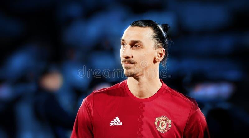 Zlatan Ibrahimovic Feyenoord in gelijke stock foto's