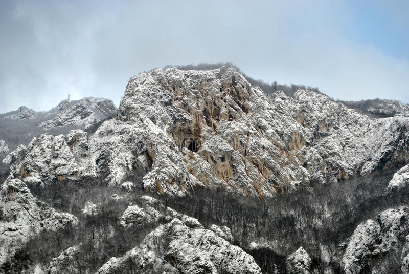 Zlatiborberg royalty-vrije stock afbeelding
