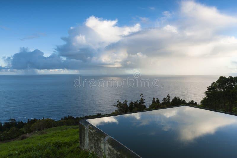 Zlokalizowany deszcz obraz royalty free