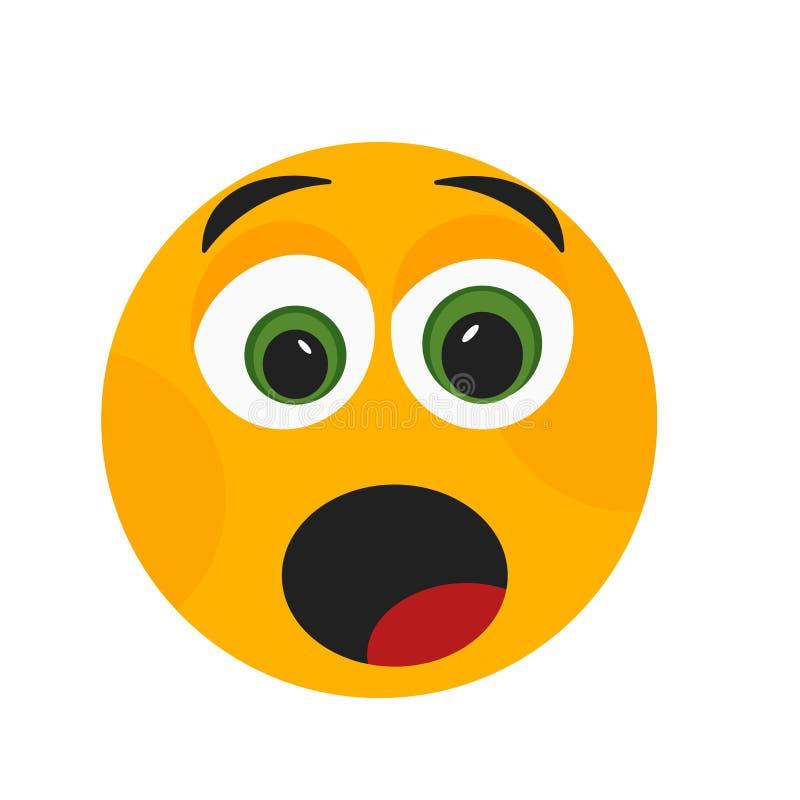 Zmęczony uśmiech ikony wektoru znak i symbol odizolowywający na białym tle, Męczący uśmiechu logo pojęcie ilustracji