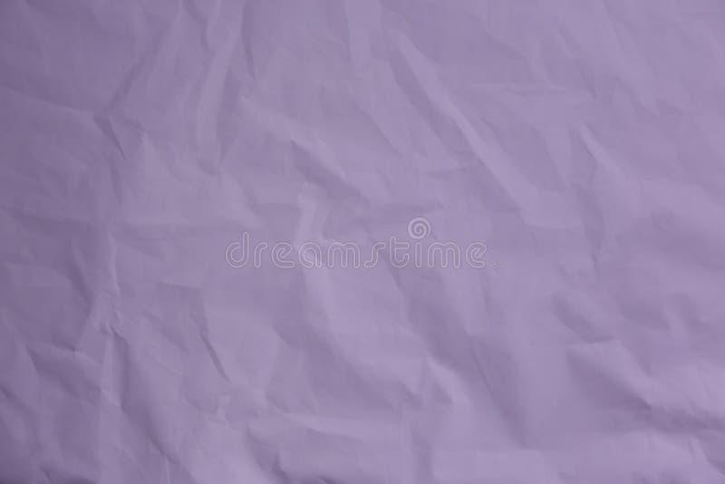 zmięte papierowe purpury Rocznika tło dla projekta fotografia stock