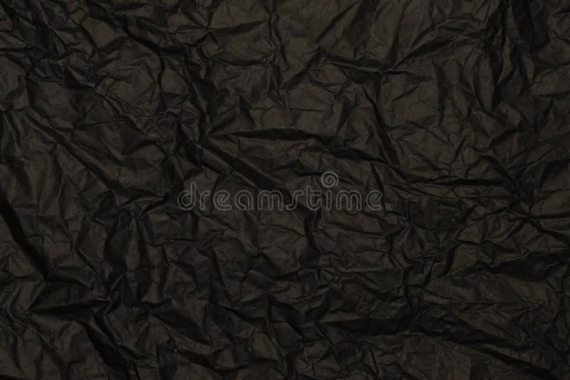 Zmiętego zmroku tekstury popielaty papierowy tło obrazy royalty free