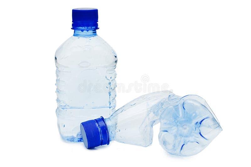 zmięty butelka klingeryt obrazy stock