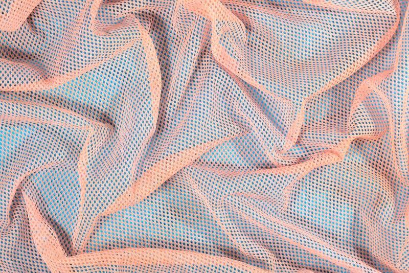 Zmięty nonwoven tkaniny tło zdjęcia stock