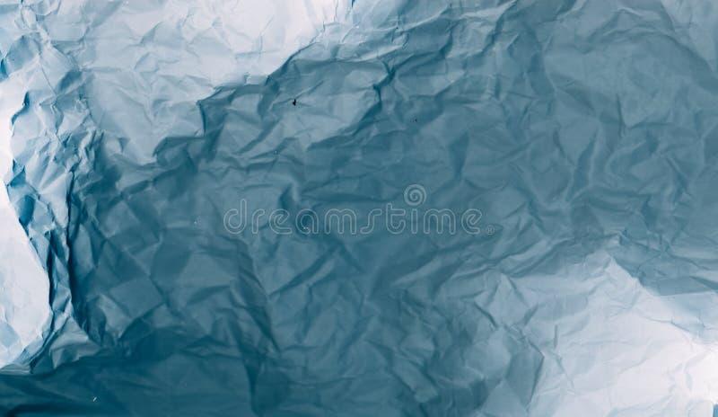 Zmięty papierowy tekstury 3d skutka tło fotografia royalty free