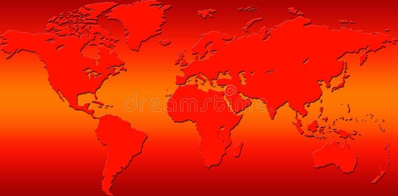 zmiana klimat royalty ilustracja