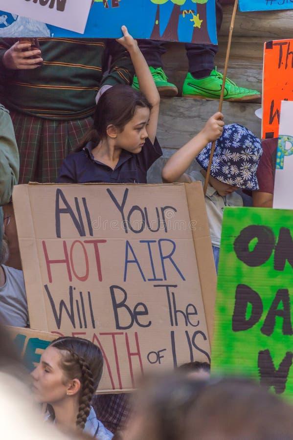 Zmiana Klimatu - jazie Marzec 2019 zdjęcie stock