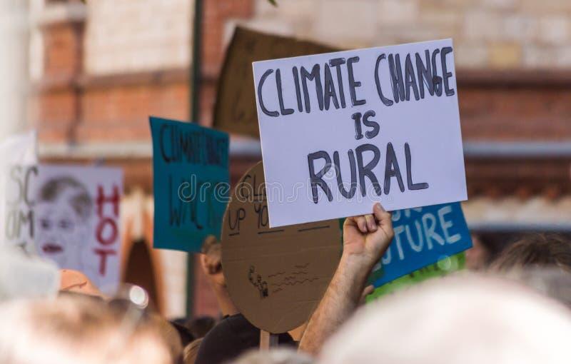 Zmiana Klimatu - jazie Marzec 2019 obraz stock