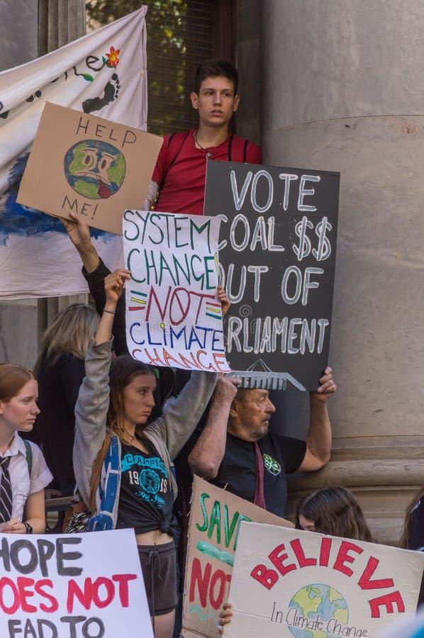 Zmiana Klimatu - jazie Marzec 2019 obraz royalty free