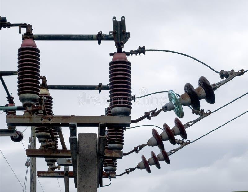 Download Zmiany elektryczne zdjęcie stock. Obraz złożonej z przemysł - 137772