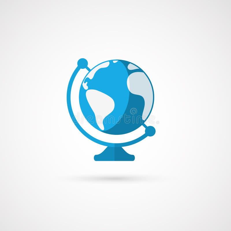 zmiany globe ikony po prostu wektora geologiczny ilustracja wektor