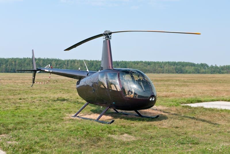 zmielony helikopter zdjęcia stock