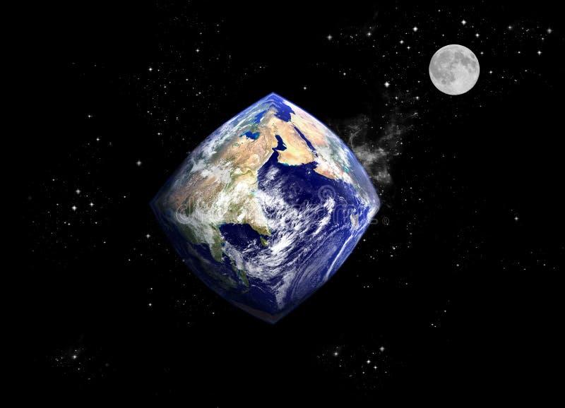 zmienić planetę. ilustracja wektor