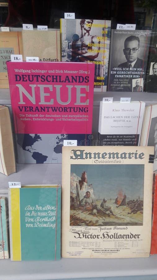 Zmienia Buchladen Antiquariat fotografia royalty free