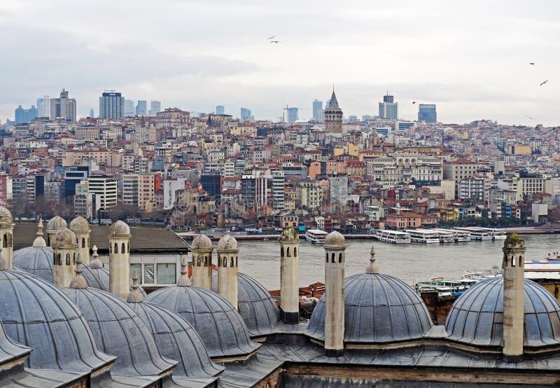 zmierzch Istanbul fotografia stock