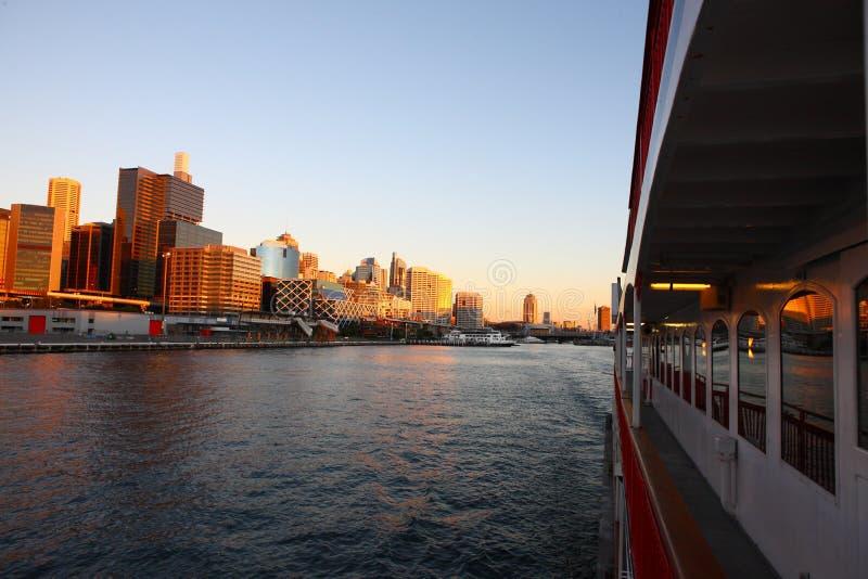 zmierzch Sydney obraz stock