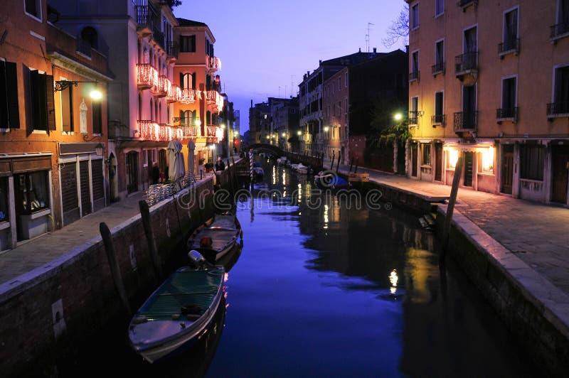 zmierzch Venice obrazy royalty free