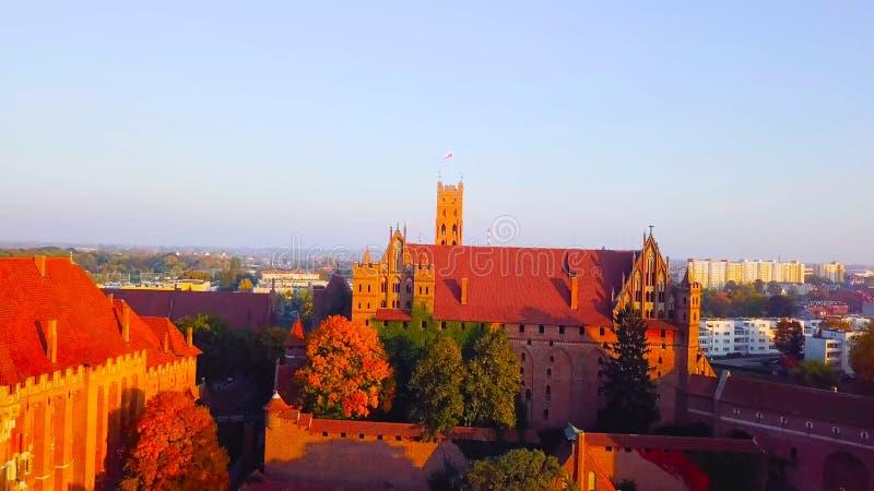 zmierzch w Prague Poland 2019 - Polska 1-2019 fotografia royalty free