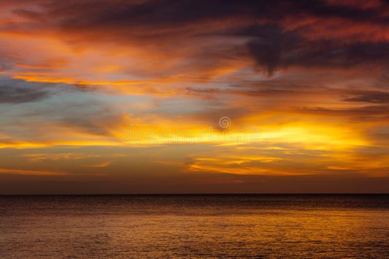 Zmierzchu Kizimkazi Unguja Zanzibar wyspa Tanzania Afryka Wschodnia obraz stock