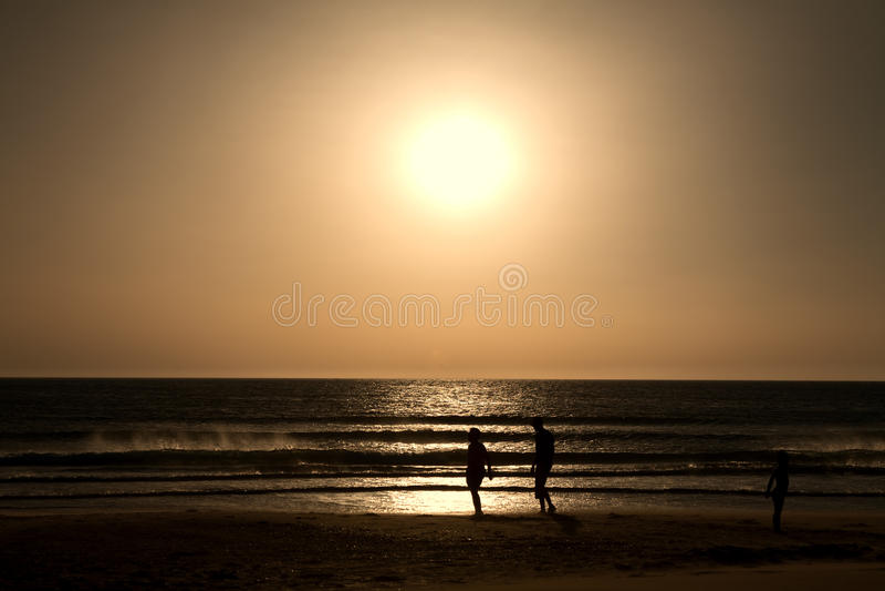 Download Zmierzchu morze obraz stock. Obraz złożonej z skały, śródziemnomorski - 42525815