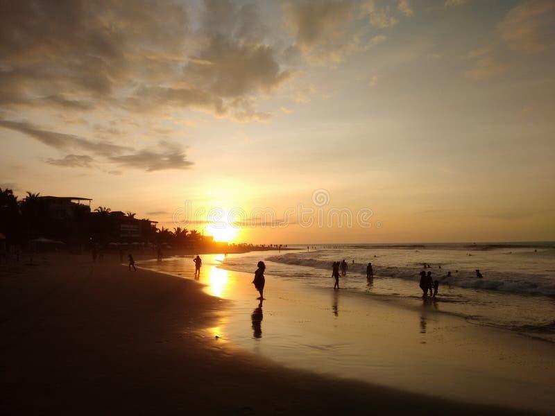 Zmierzchu ocean zdjęcia royalty free