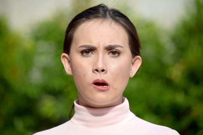 Zmieszana Młodociana Różnorodna kobieta zdjęcia royalty free