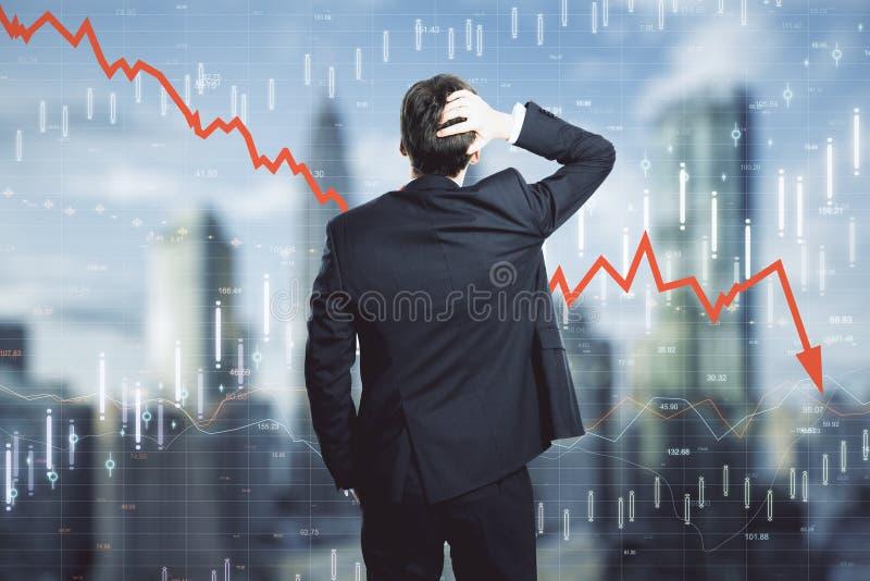 Zmniejszanie, stats i handlowy pojęcie, zdjęcia stock