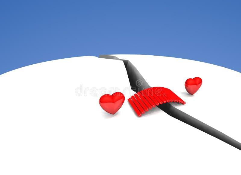 zmor miłości duszy wpólnie ilustracji