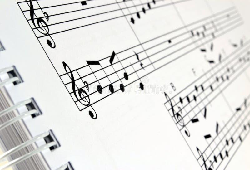 zmory książkowy muzyki pierścionku prześcieradło obraz royalty free