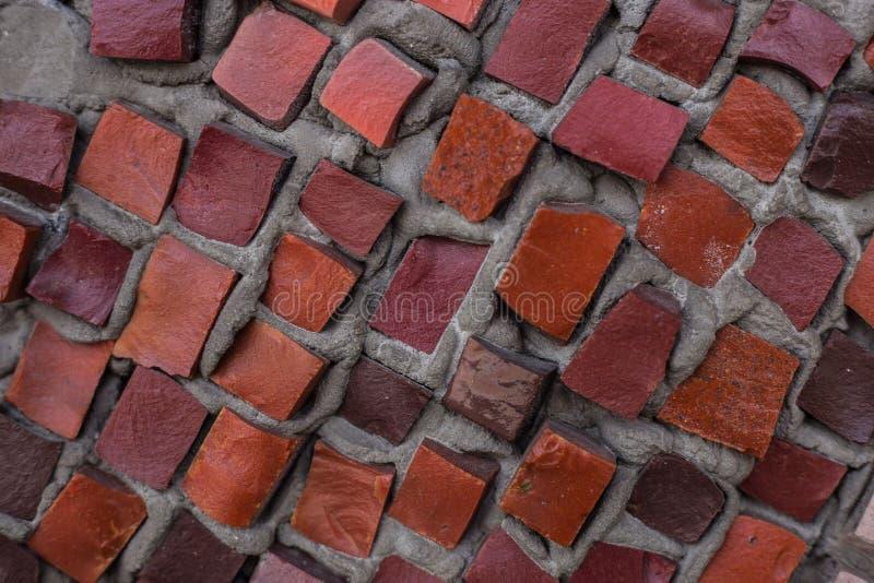 Zmrok ściana od mozaiki zakończenia fotografia stock