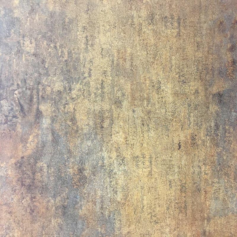 Zmrok będący ubranym ośniedziały metal tekstury tło Porysowany oczyszczony metal tekstury tło obrazy royalty free