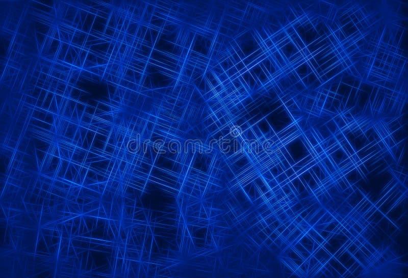 Zmrok - błękitów związków ilustracji druciany tło ilustracja wektor