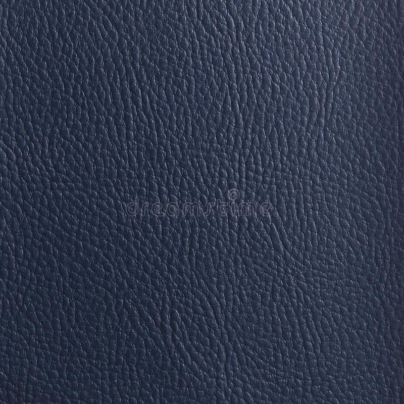 ZMROK - błękitna skóra TEXTURED tło fotografia stock