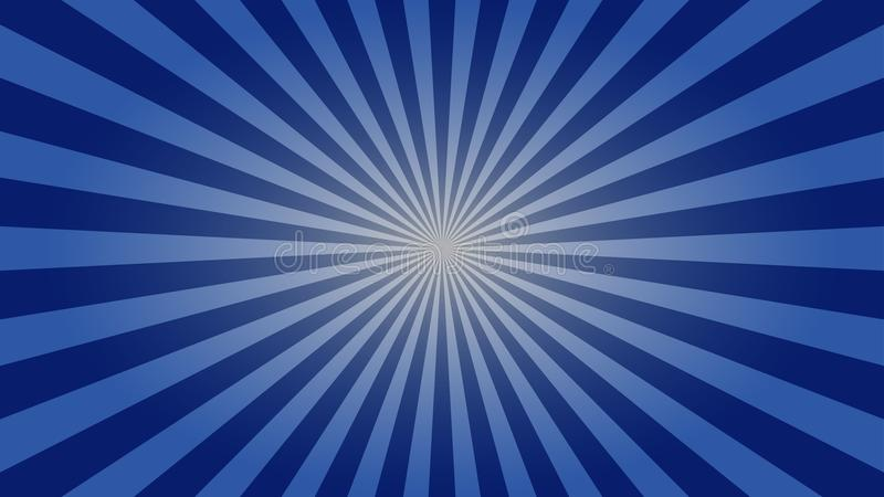 Zmrok - błękitna sunburst desktop tapeta fotografia royalty free