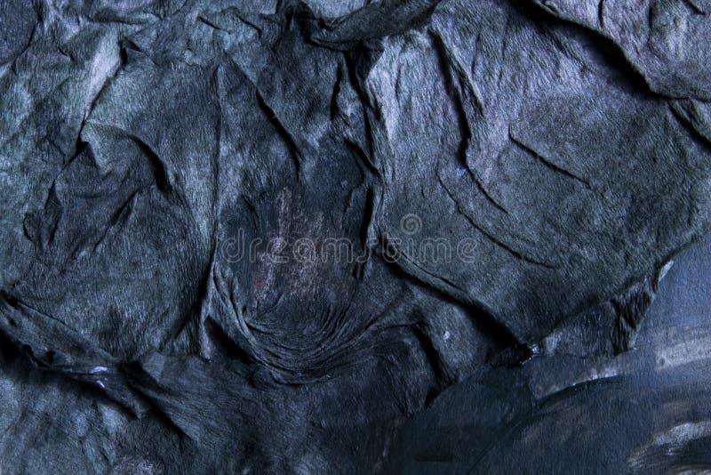 Zmrok - błękitny tekstury tła papier zdjęcia royalty free