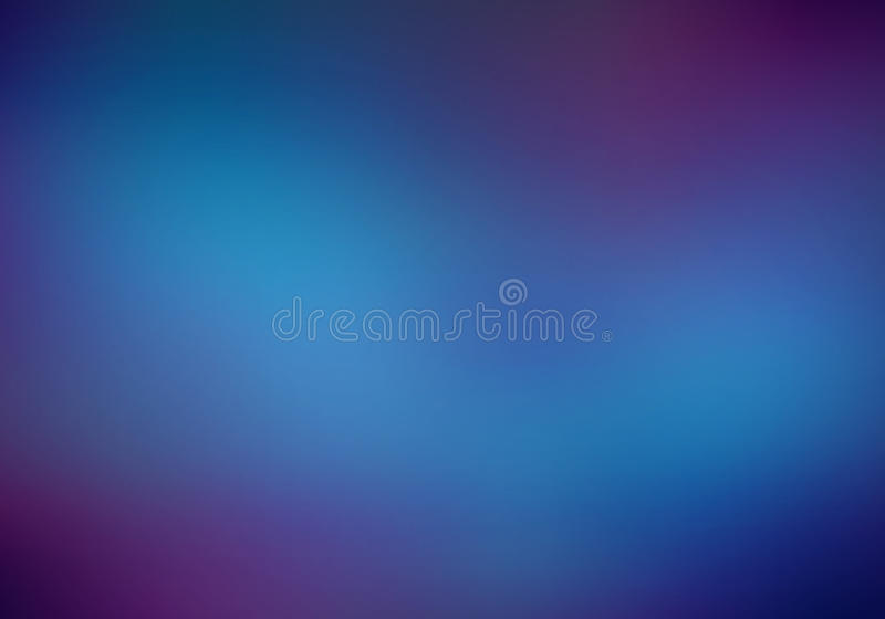 Zmrok - błękitny zamazany tło z purpurami zdjęcie stock
