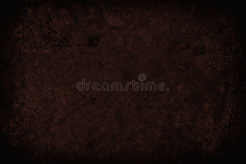 Zmrok - czerwień drapająca grunge ściany tekstura lub tło obrazy stock