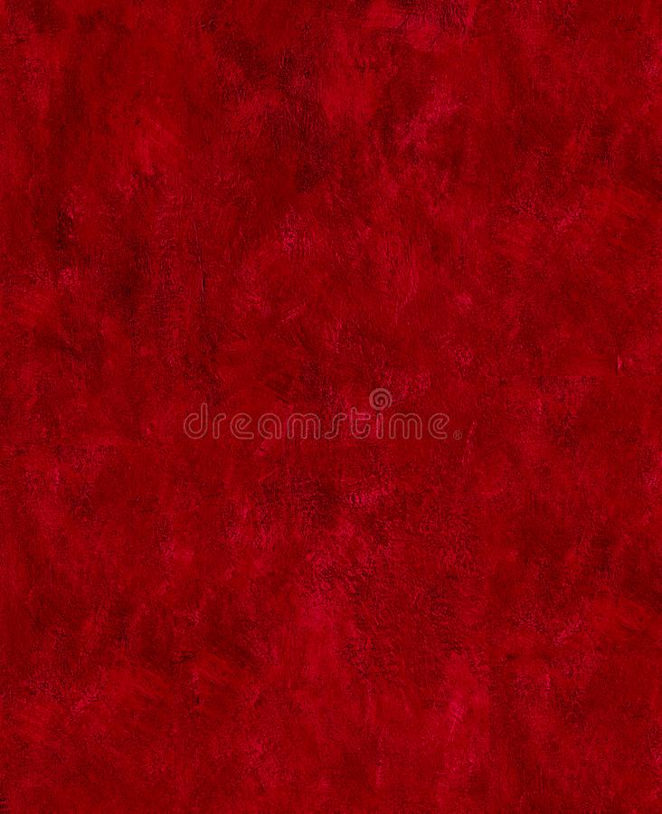 Zmrok - czerwona farba muska tekstura abstrakt fotografia royalty free
