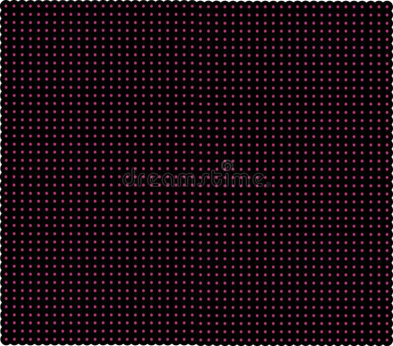 Zmrok - czerwona siatka z jaśnienie punktami Laser sieć z łuną przecina na czerwonym ciemnym tle Bezszwowy wzór z czerwony neonow obrazy royalty free